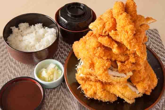 若鶏かつ定食(大)
